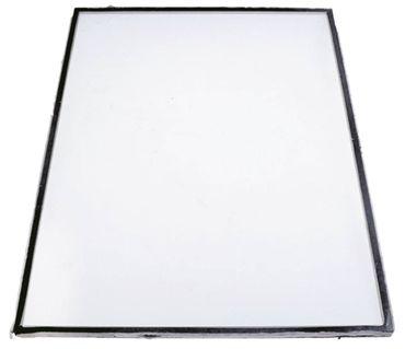 Glasscheibe Länge 570mm Breite 389mm Materialstärke 7mm
