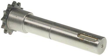 Alimacchine Antriebswelle für Teigknetmaschine NT05, NT10 ø 20mm
