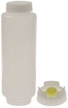 Flasche mit mittel Membran 592ml ø 69mm Höhe 215mm