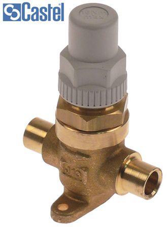 CASTEL 6420/M10 Absperrventil Anschluss 10mm 2-Wege 45bar 1m³/h