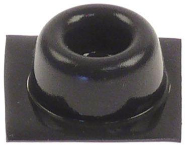 Gerätefuß selbstklebend ø 20mm MD50, MD80 Höhe 10mm