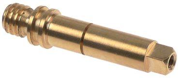 Achse ø 10,9mm Dampf/Wasserhahn D2 ø 13,7mm Länge 62,4mm