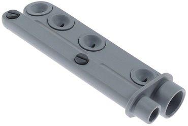 Elettrobar Wasch- und Nachspülarm 7 Düsen Einbau 17/22mm