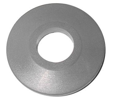 Abweisrolle Aussen 95mm grau Höhe 18mm Innen 35mm PVC