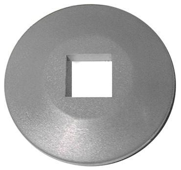 Abweisrolle Aussen 99mm grau Höhe 19mm Innen 25x25mm PVC