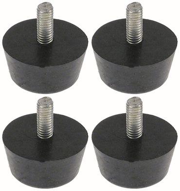 Horeca-Select Gerätefuß ø 30mm M6 Gewindelänge 14mm Höhe 16mm