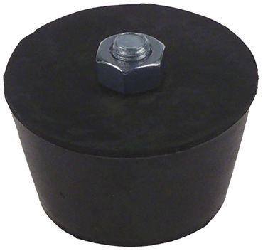Bartscher Gerätefuß für Crêpe-Gerät Elektro 104447 D1 50mm M8