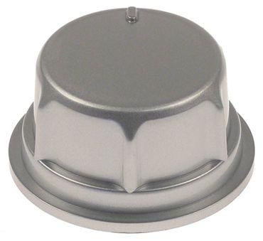 ACP Knebel für Mikrowelle RCS511DS, ALD510D ø 56mm silber