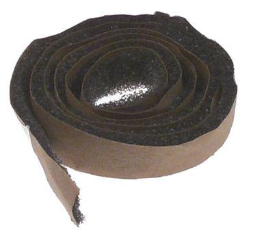 Moosgummidichtung für Tür Länge 520mm