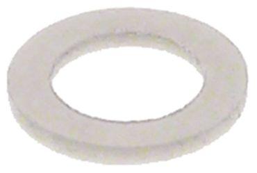 Flachdichtung Aussen 9,8mm D2 6,1mm Innen 6,1mm PTFE