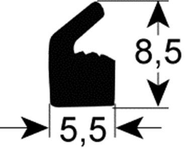 Deckeldichtung für Vakuumiergerät Henkelman JumboPlus, MiniJumbo