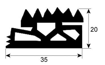 Eloma Hordenwagendichtung für Kombidämpfer GENIUS, MB, 1011, 611