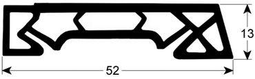 CONVOTHERM Hordenwagendichtung Länge 540mm Profil 4085