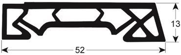 Convotherm Hordenwagendichtung Länge 780mm Profil 4085