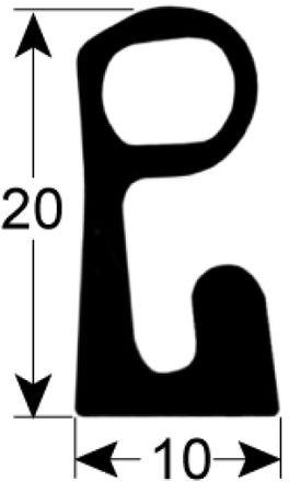 Kühlzellendichtung Profil 9985 VPE Meterware