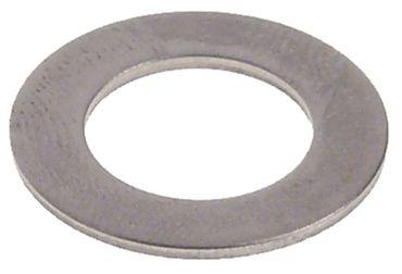 Unterlegscheibe Aussen 22mm Innen 13mm CNS Materialstärke 1,2mm