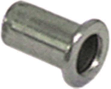 Nietmutter Gewinde M8 CNS ø 11mm Länge 18mm VPE 10 Stück
