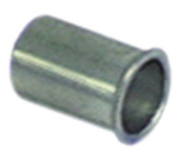 Nietmutter Gewinde M4 CNS ø 5,9mm Länge 11,5mm VPE 10 Stück
