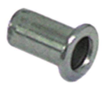 Nietmutter Gewinde M5 CNS ø 6,9mm Länge 13mm VPE 10 Stück