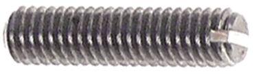 Madenschraube M3,5 Länge 14mm geschlitzt