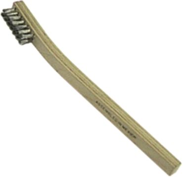 Drahtbürste 3-reihig 3-reihig Besatzlänge 35mm Breite 10mm