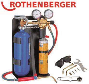 Autogenschweißgerät für Blechstärke 0,1-2,5mm einsatzbereit