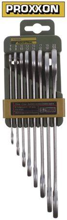 Doppelmaulschlüssel-Satz DIN 3118/ISO 3318 verchromt 6-22 mm