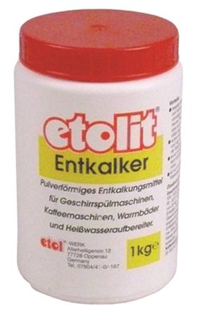 Entkalker etolit für Kaffee-/Spülmaschinen pulverförmig 1kg