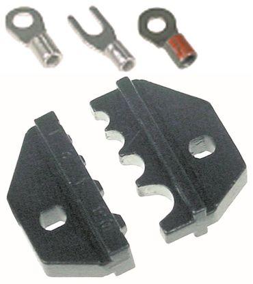 Crimpbacken Pressbereich 1-10mm² Kabelschuhe unisoliert
