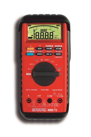 BENNING Multimeter MM 11 5-stellig Auto-Range Ja/Ja 1Hz-100kHz USB