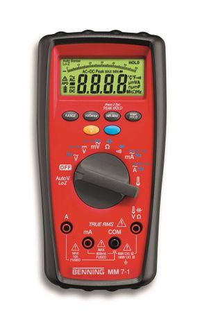 BENNING Multimeter MM 7-1 4-Digits Auto-Range und/oder manuell Ja