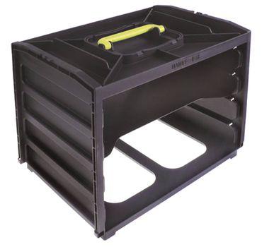 4x Einschubbox ohne Einschübe G3-0B oder 4x G3-32 Tiefe 265mm