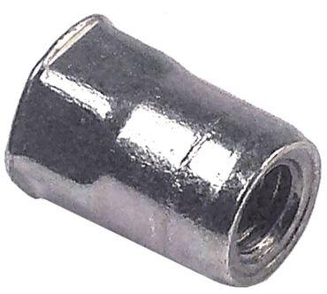 Fagor Nietmutter für FI-550D, FI-550I M6 Länge 15mm CNS DN 10mm