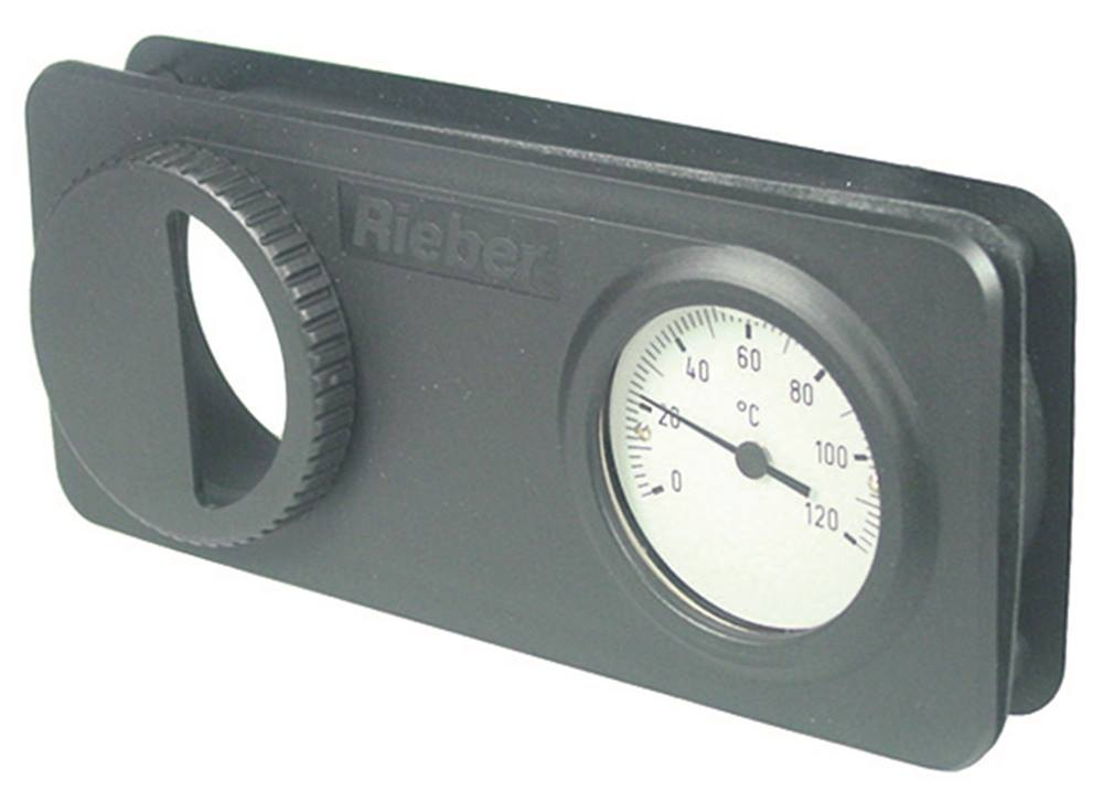 thermometer komplett mit rahmen einbau 60mm f hler 8 4x40mm. Black Bedroom Furniture Sets. Home Design Ideas