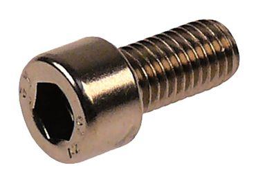Zylinderkopfschraube Gewindelänge 16mm SW 8 CNS Länge 30mm