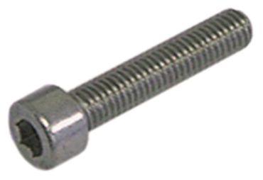 Zylinderkopfschraube Gewinde M5 VPE 20 Stück Gewindelänge 25mm