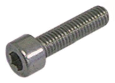 Zylinderkopfschraube CNS DIN 912/ISO 4762 SW 5 Gewinde M6