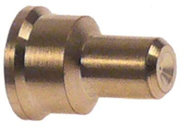 POLIDORO Zündbrennerdüse Bohrung 0,4mm Kennzahl 40 Erdgas