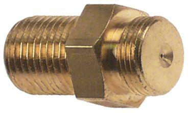 Zündbrennerdüse für Flüssiggas Bohrung 0,35mm M10x1 M10x0,75