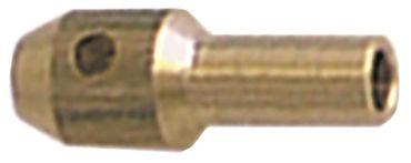 Zündbrennerdüse für Erdgas Bohrung 0,28mm