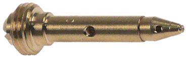 Zündbrennerdüse für Erdgas Bohrung 0,35mm Gewinde M8x0,75