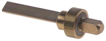 Ventil Länge 59,4mm Aussen 16mm Messing dreikant