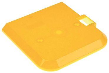 Deckel für Verdampfer mit Gewinde gelb