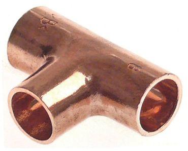 T-Stück für Kältetechnik ø 8mm Kupfer zum Löten