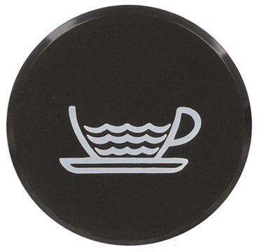 Bezzera Symbol für Kaffeemaschine B2000 ø 45mm schwarz Wasser