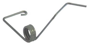 Drehfeder Drahtstärke 1,5mm ø 11,8mm Länge 23mm L1 23mm L2 7mm