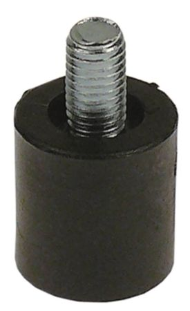 GIGA Gerätefuß für C4VFE, TF2E, TF1E, C4V ø 26mm M10