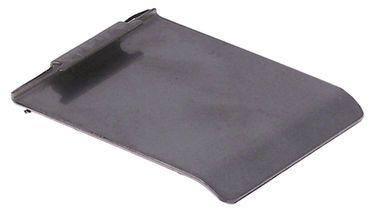 Deckel für Auslauf Breite 50mm Höhe 65mm CNS