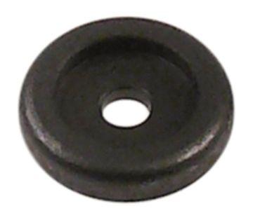 Dichtscheibe für Türgriff Innen 5,5mm EP unten Aussen 25mm