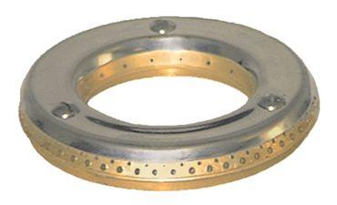 MBM-Italien Brennerdeckel für Gasherd mit Mittelloch ø 125mm